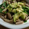 Biona Organic Spelt Pasta with Spinach and Avocado