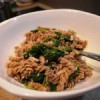 Organic Spelt Pasta with Tuna and Spinach