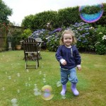Sensory Play with Bubbles