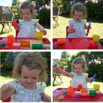 Playing with Play Doh